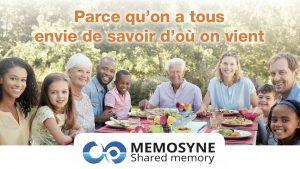 Mémosyne : valorisation de la mémoire de nos ainés !