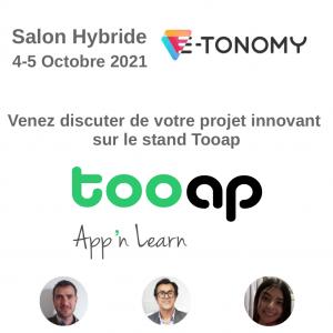 Salon Hybride E-tonomy 4-5 Octobre 2021